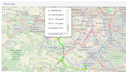 Maps ECOMTREK
